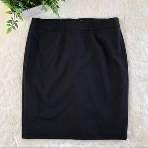 Calvin Klein black pencil skirt 14